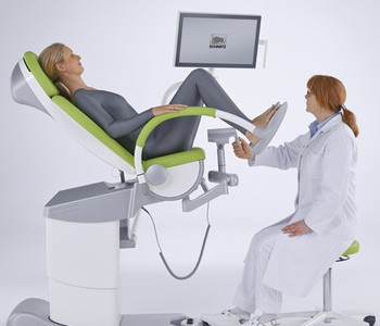 Gynae Chair (Full HD Video Colposcope vidan)