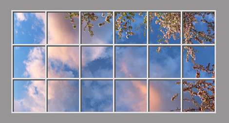 Luminous SkyCeilings: Sunrise-Sunset Clouds