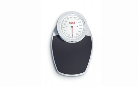 SECA 750 (Black)- Mechanical Home Personal Scale with Dial Face