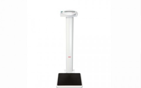 SECA 769- Electronic column scales with BMI function